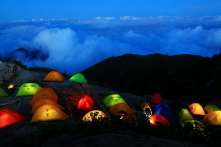 テント泊 登山