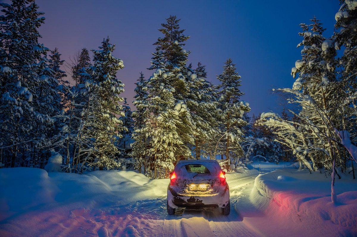 雪道ドライブ特集