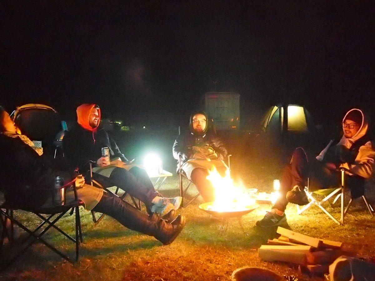 【キャンプビギナーが使ってみた】レッツ焚火!コールマン ファイアーディスク