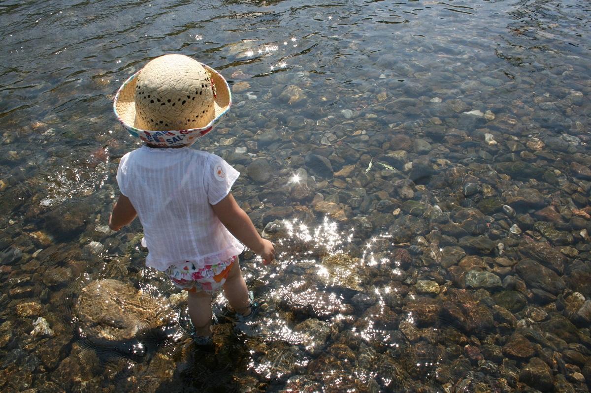 川 遊び方