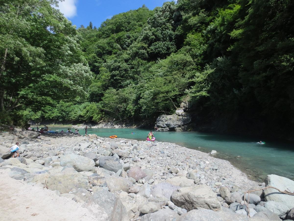 川遊び 日焼け