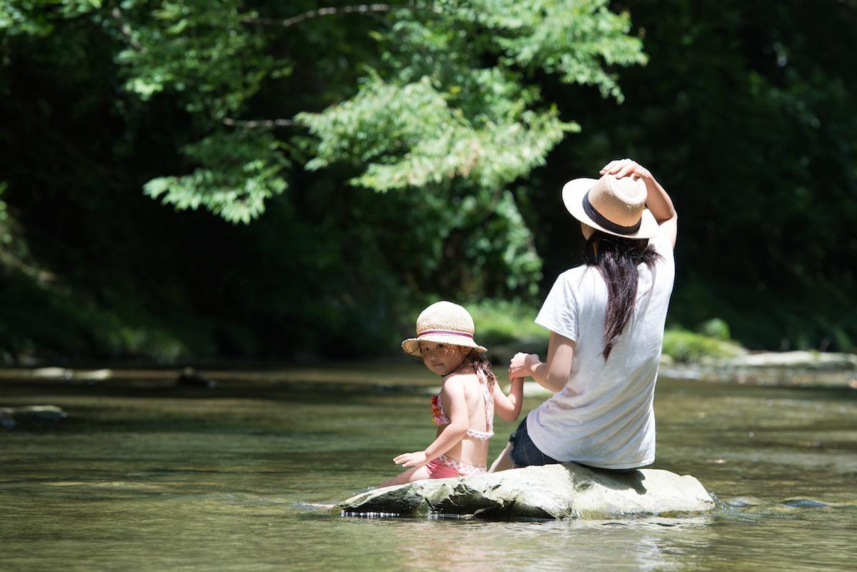 川遊び 服装
