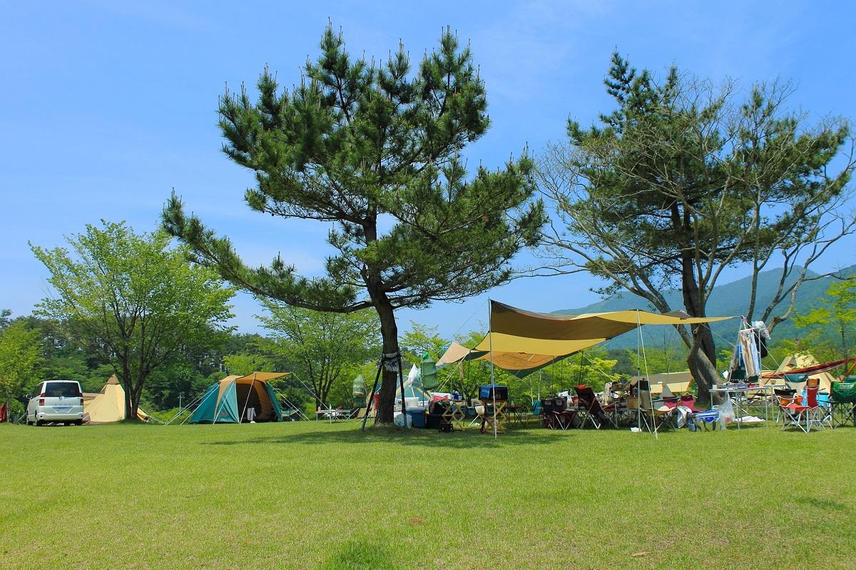ファミリーキャンプ キャンプ場