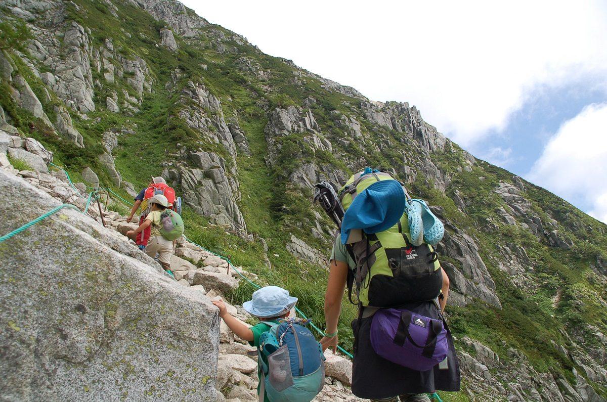 ファミリー向けの登山ってどんな山?子どもの年齢によって異なる山登り