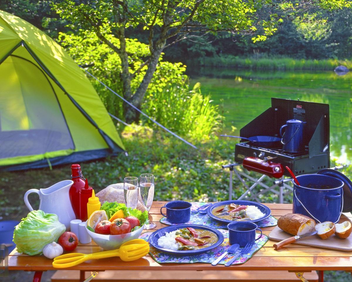 キャンプ 子ども料理