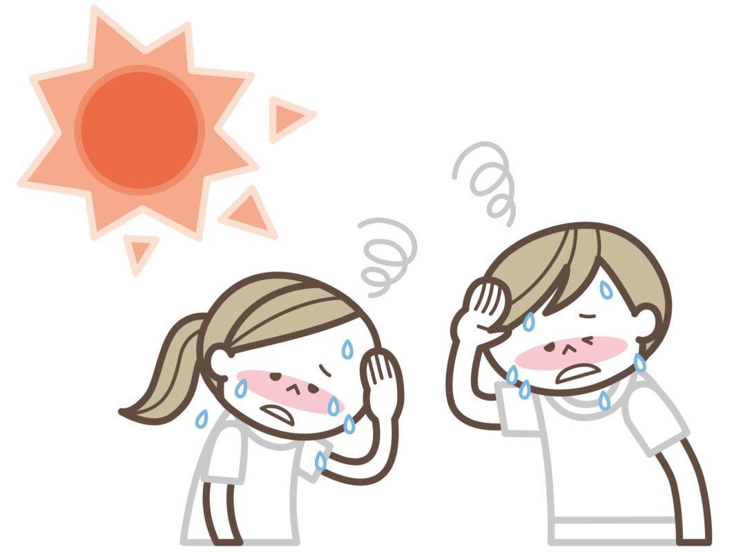 川遊び 熱中症