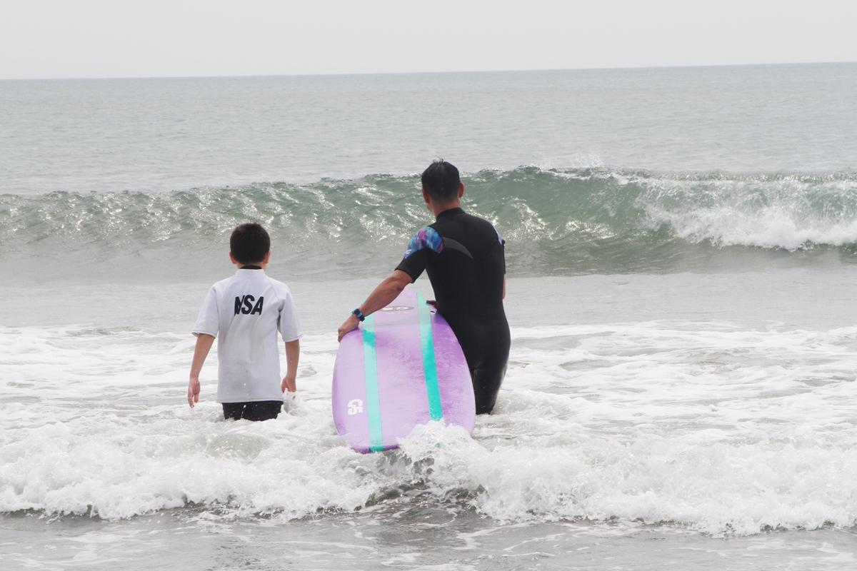 サーフィンスクール NSA 日本サーフィン連盟