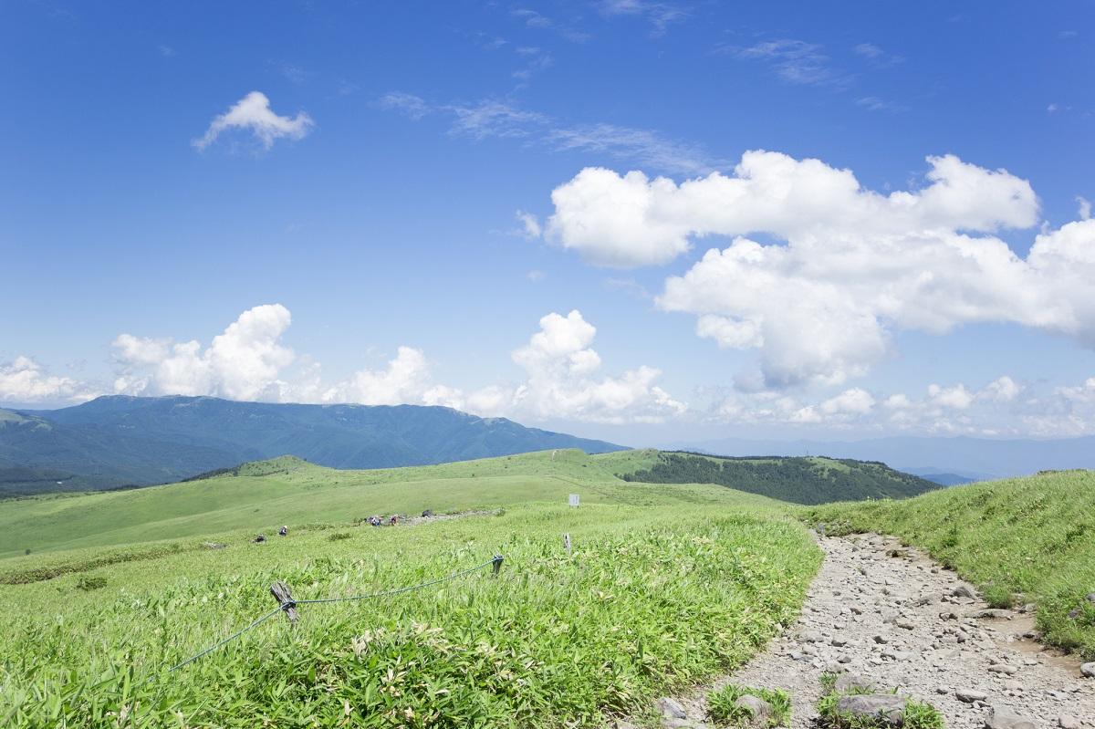 車山高山 トレイルランニングコース