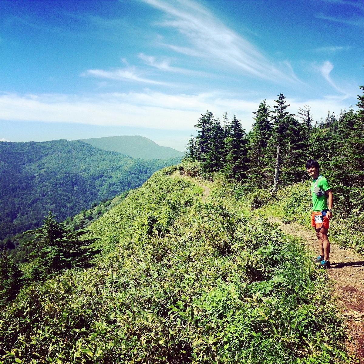 トレイルランニング 登山