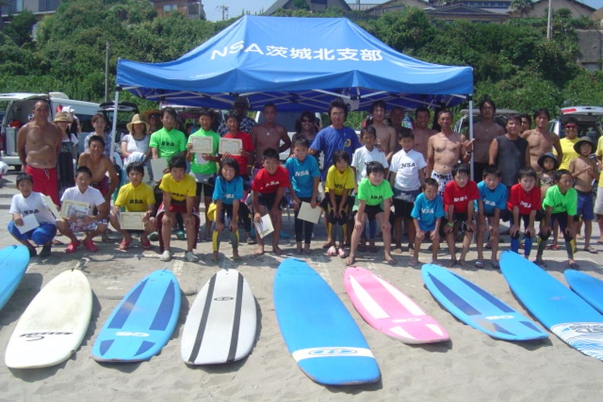 NSA 日本サーフィン連盟 安全講習
