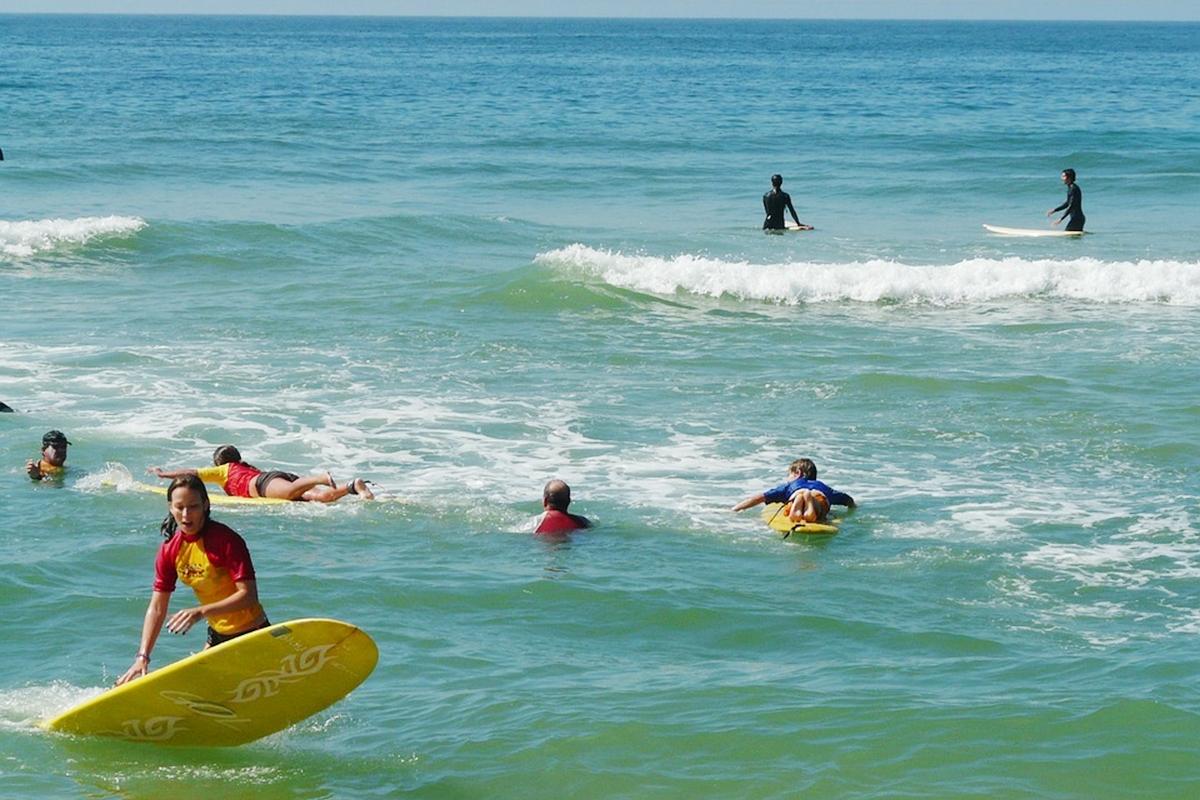 サーフポント サーフィン サーファー高齢化