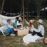 【女子キャンプ】秋のグランピングは防寒必須!何着ていけばいい?の疑問にお答えします♪