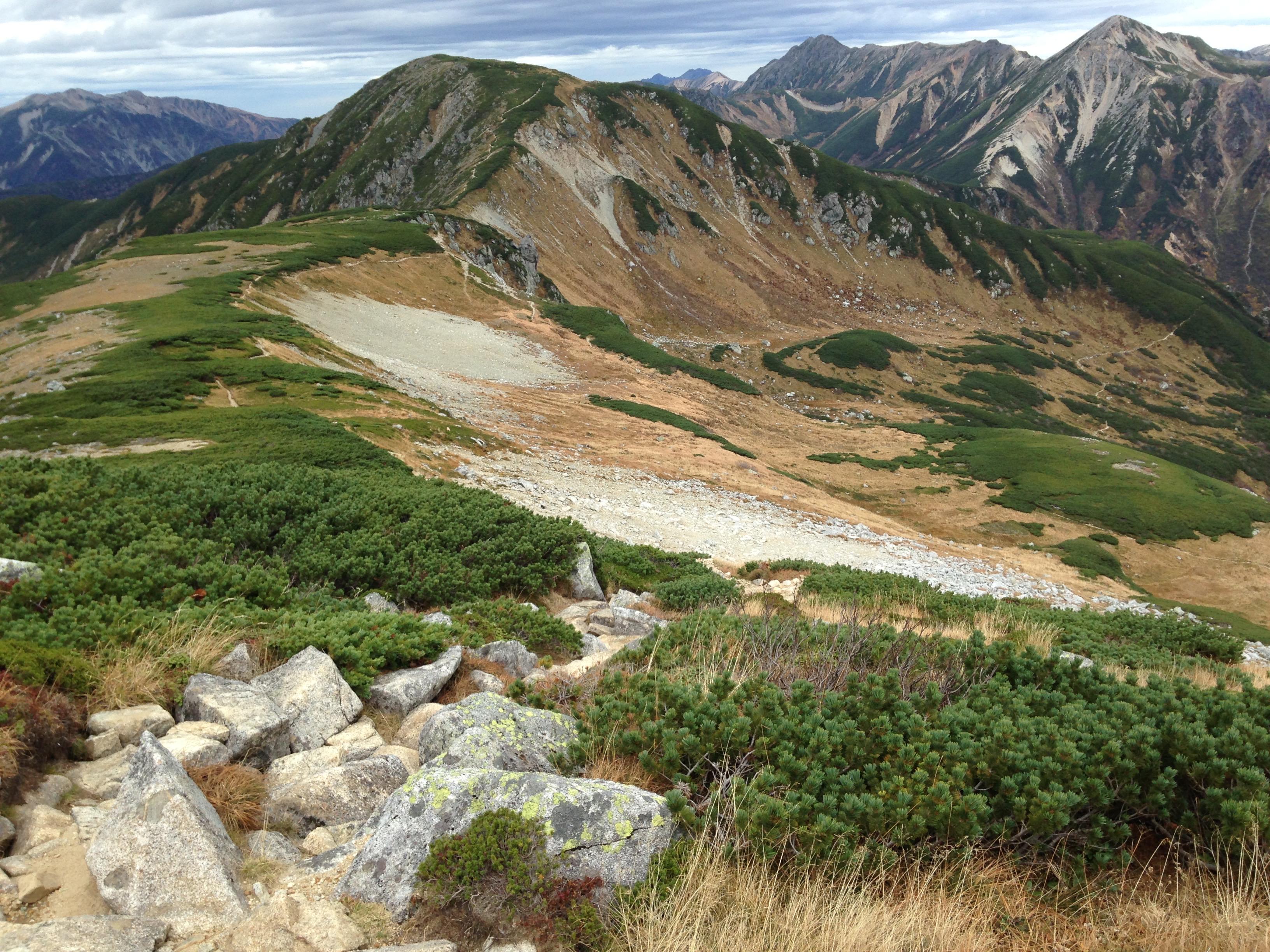 雲ノ平 北アルプス登山
