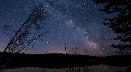 星空 天体観測キャンプ場