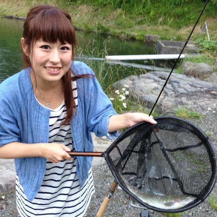 管理釣り場女子
