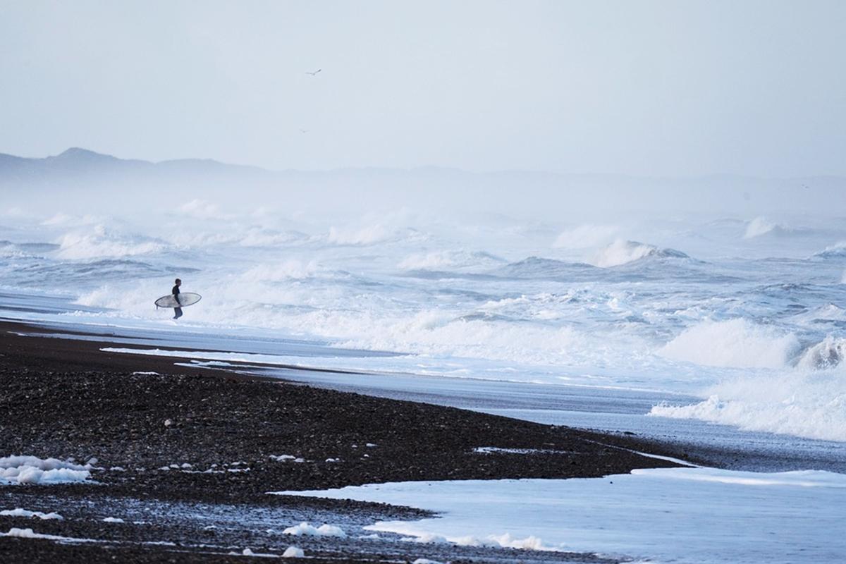 天候不良 サーフィン怪我と対策