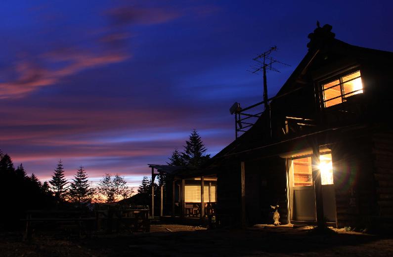八ヶ岳エリアの山小屋泊