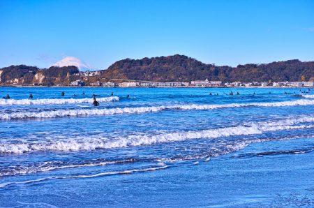 秋冬のサーフィン