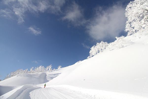 東北のスキー場