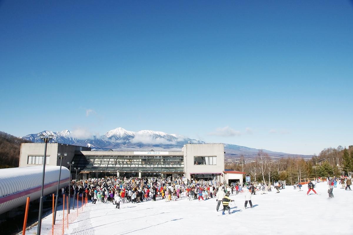 レジャーブーム スキーブーム