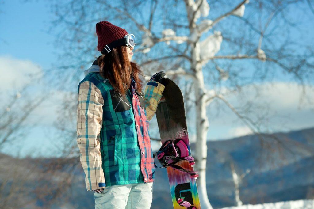 スノーボードのバッジテスト