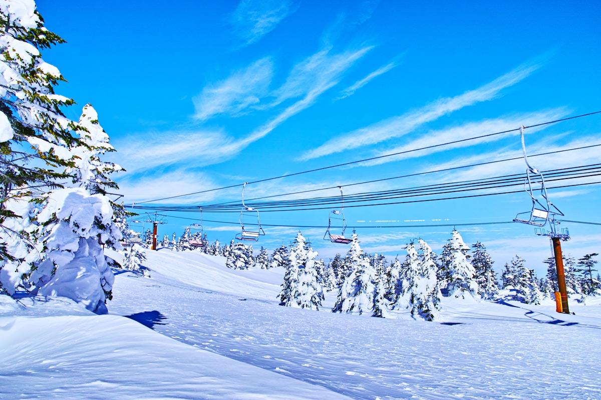 銀世界 スキーブーム