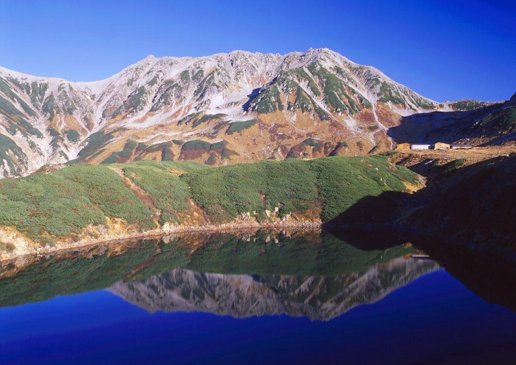北アルプス登山 温泉
