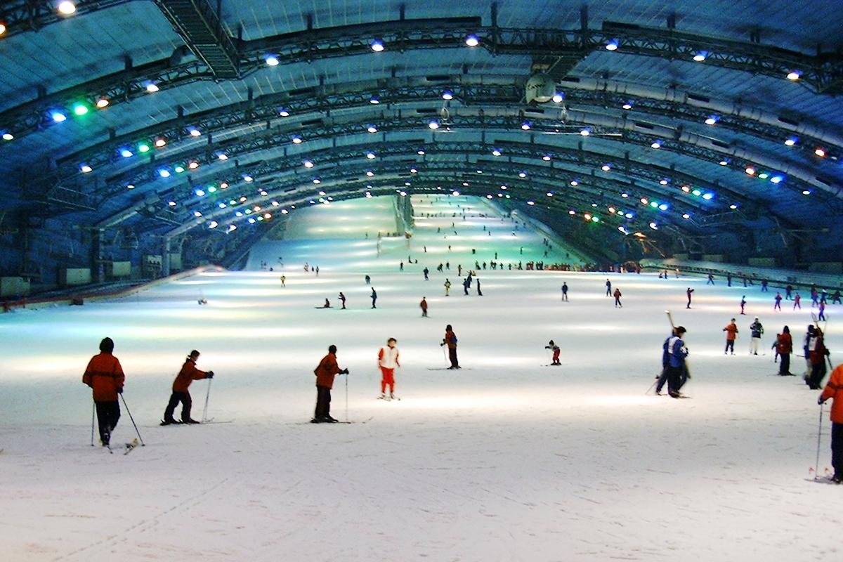 室内スキー場 スキーブーム