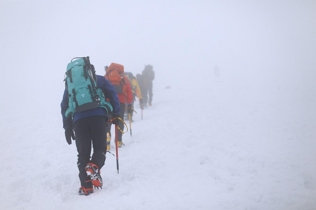 雪山登山 事故防止