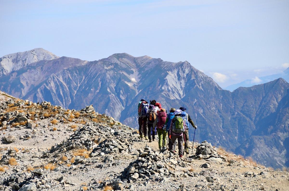 山岳ガイドの仕事