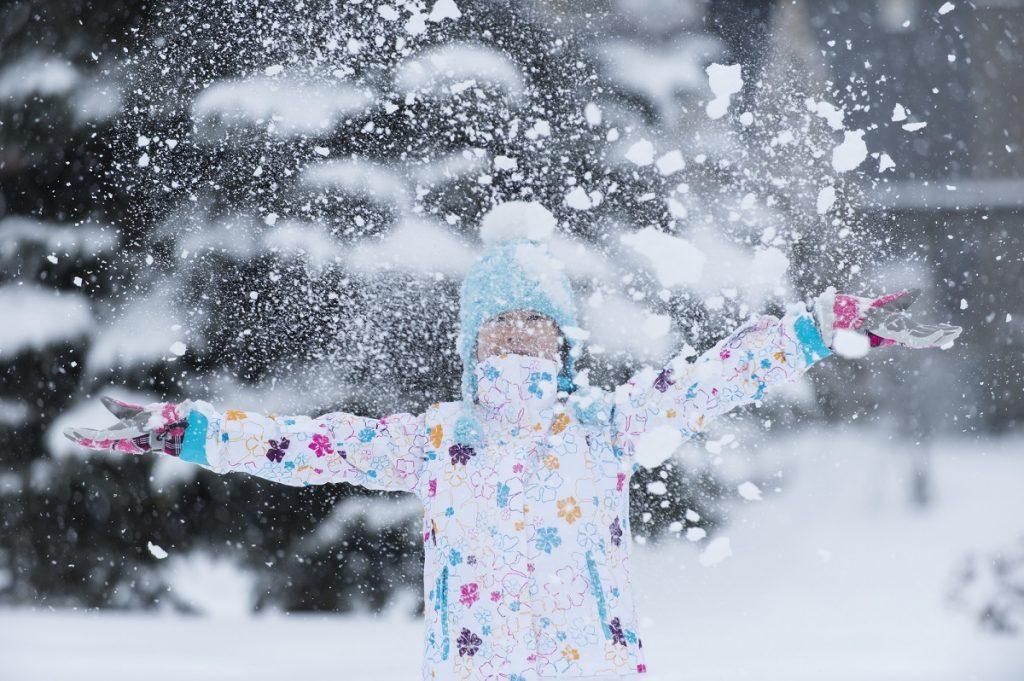 子どもがスキー&スノーボード