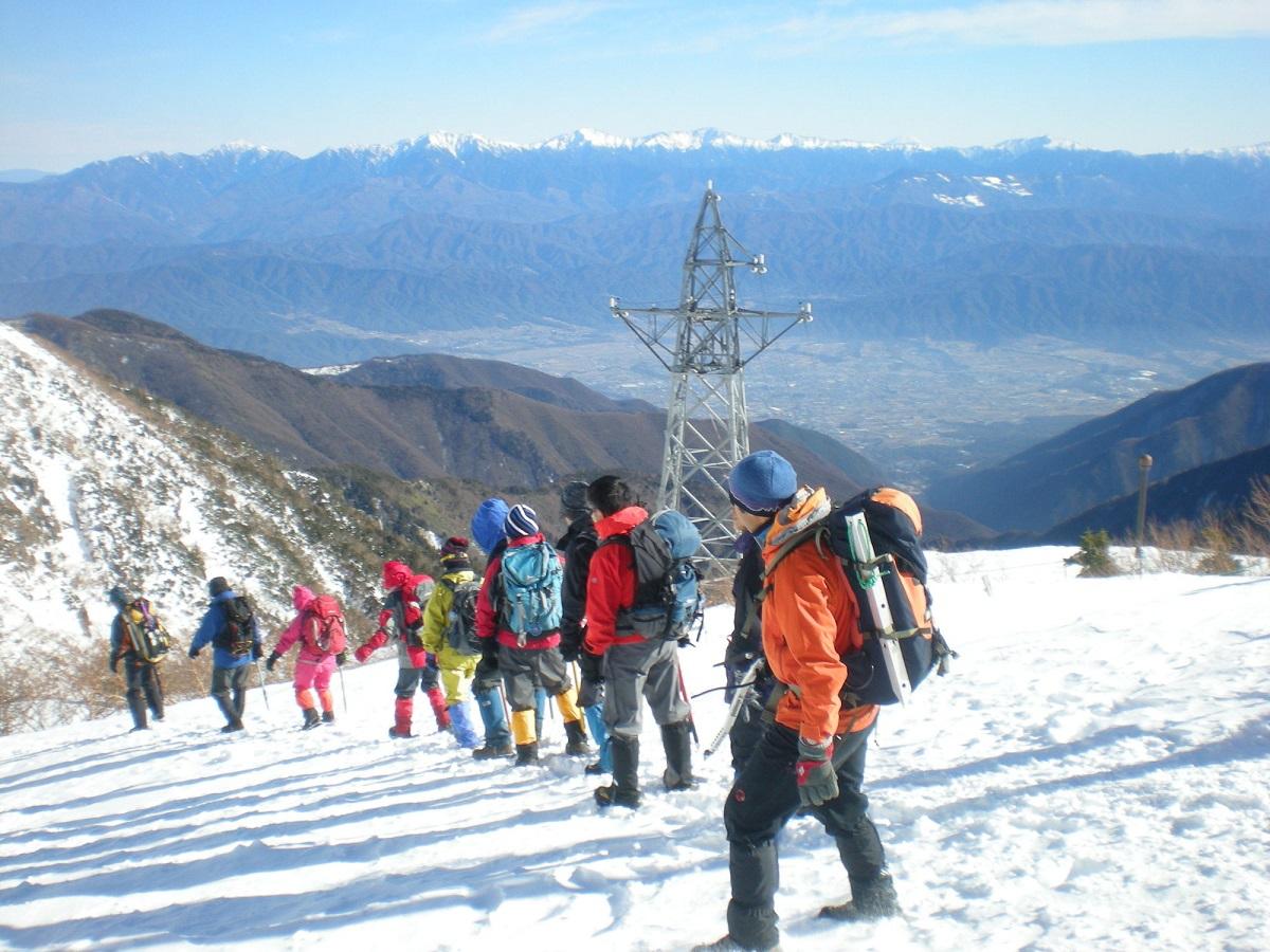 山岳ガイドや登山ガイド