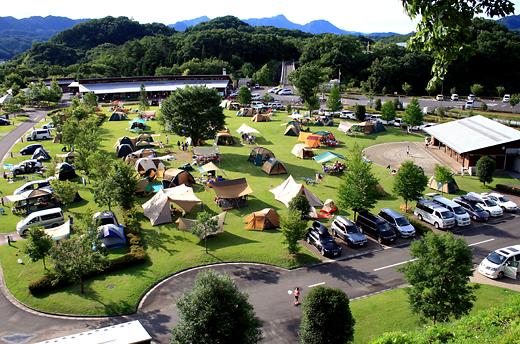 年越し キャンプ場