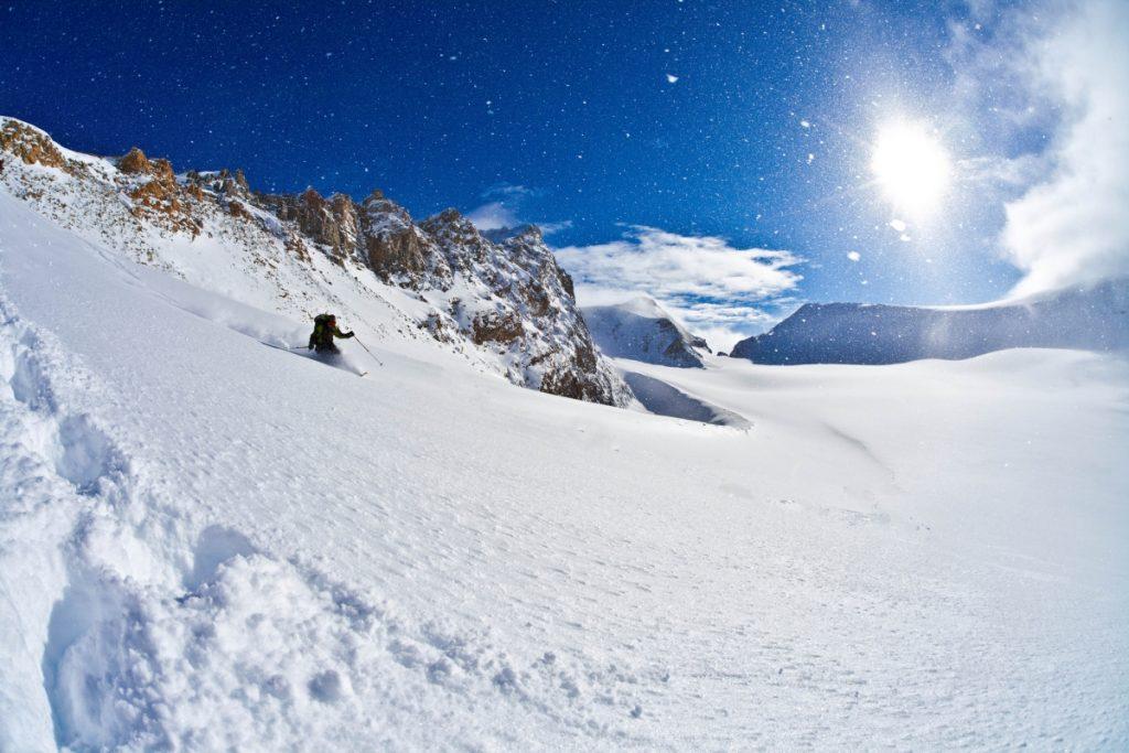 カナダのスキー場