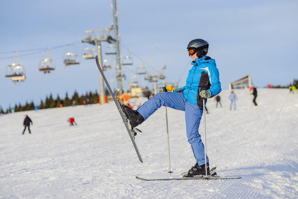 スキーのケガと筋肉痛を予防