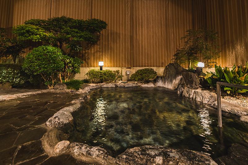 温泉×グランピング施設
