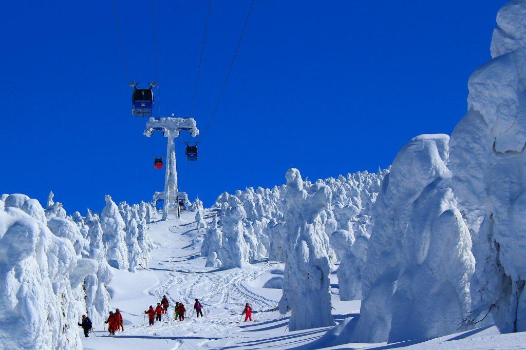 スキー場雪不足