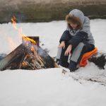 雪中キャンプこそ焚火が楽しい!その魅力と注意点!焚火成功のための初級編♪