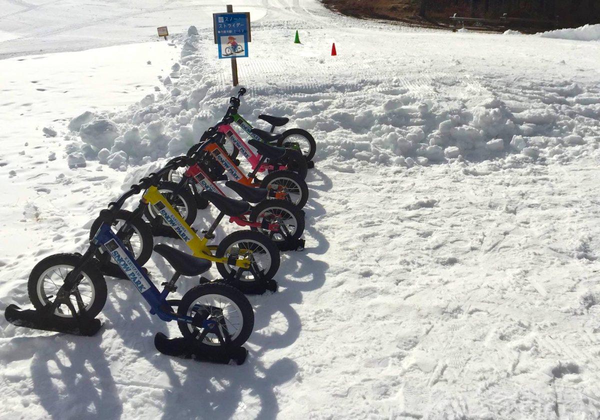 【子どもに大人気!】スノーストライダーが安全に楽しめるスキー場へ行こう♪~関東編