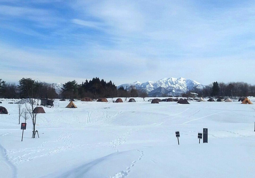 雪中キャンプ 関東甲信越