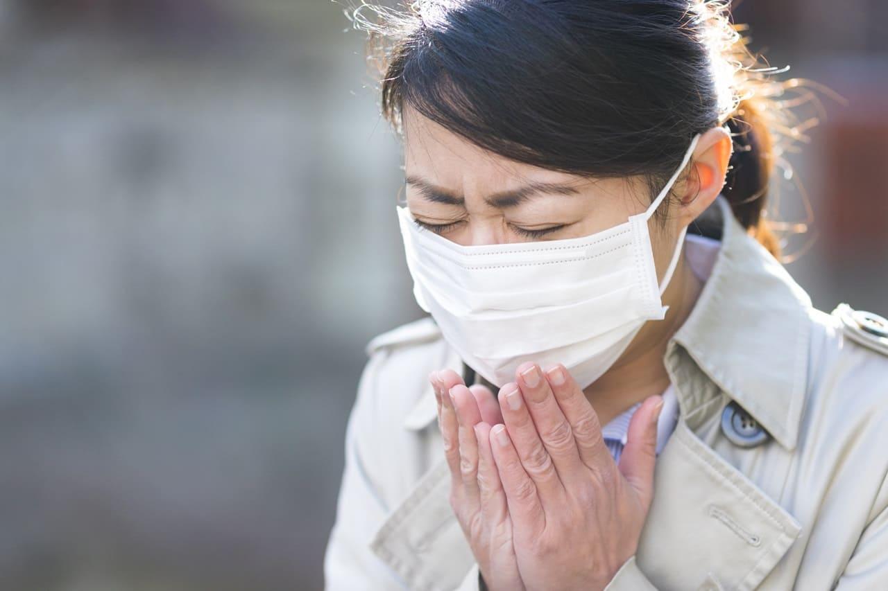 花粉症 アウトドア