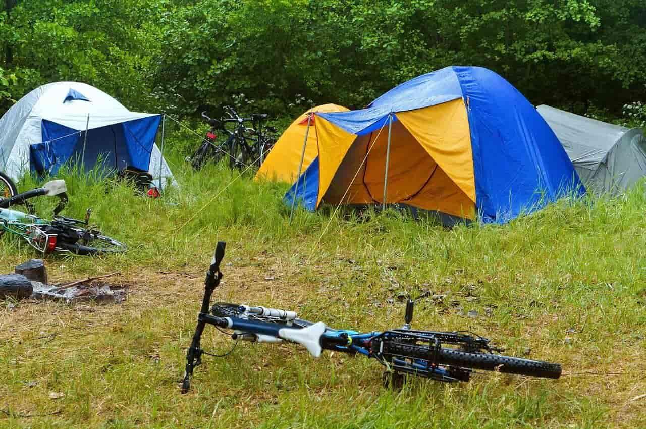 ツーリング テント