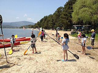 琵琶湖 キャンプ場
