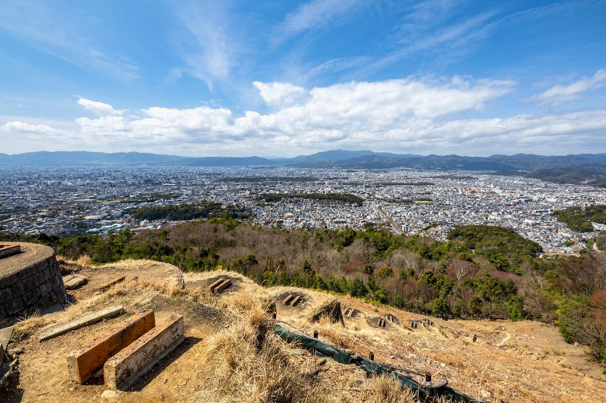 比叡山 大文字山