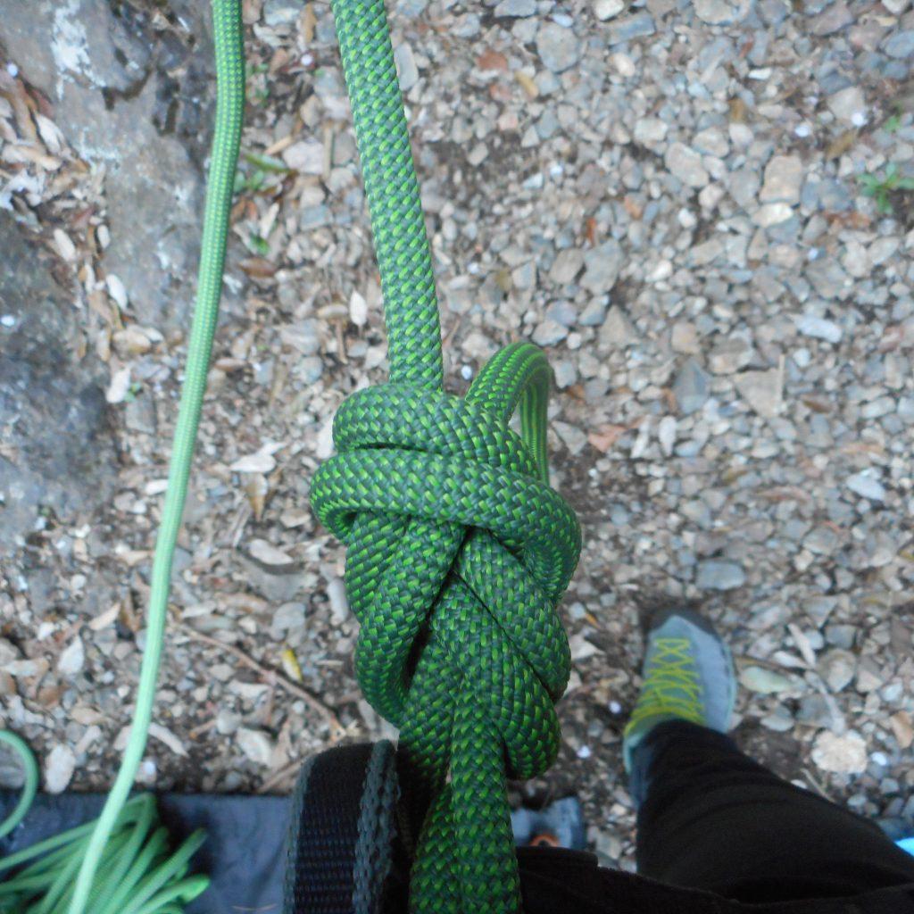 ルートクライミング ロープ