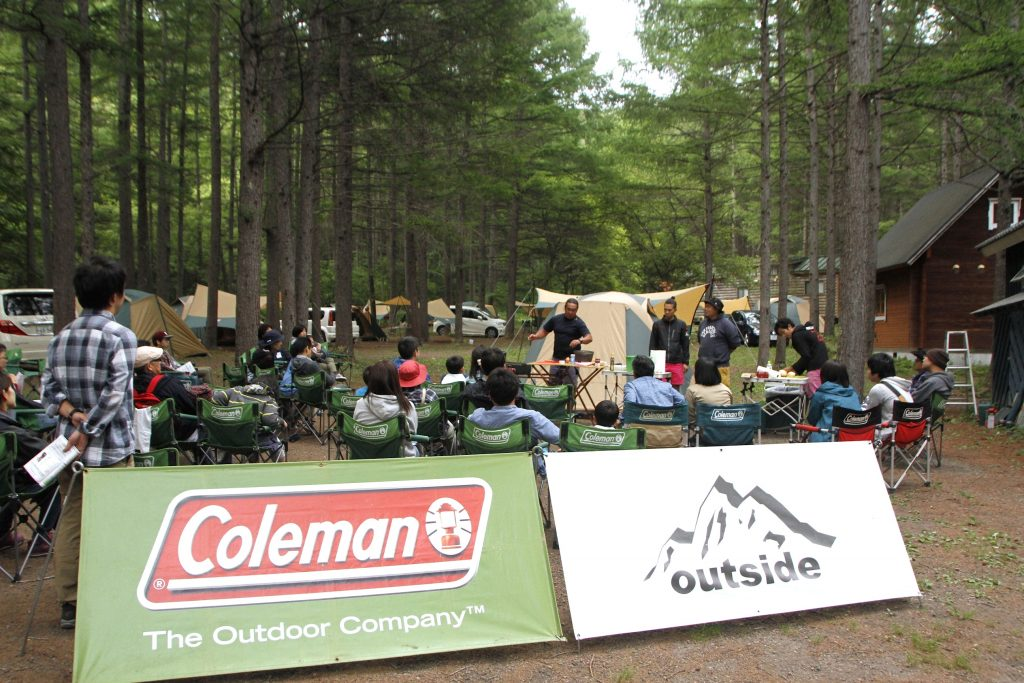 outside TOUR × Coleman