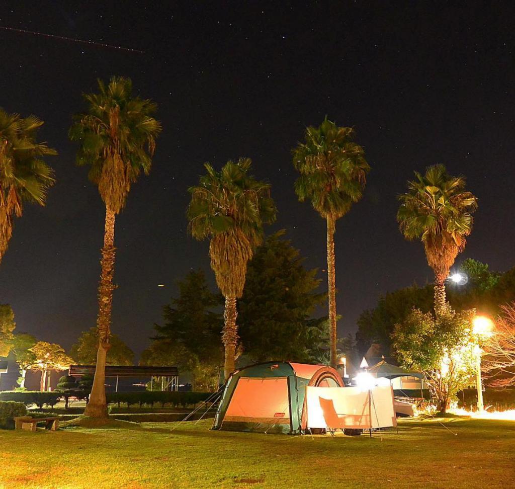 しまなみ海道のサイクリングキャンプ場