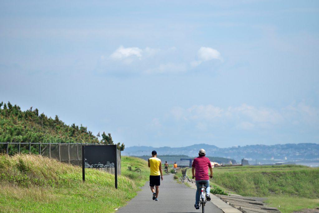 サイクリングロードマナー