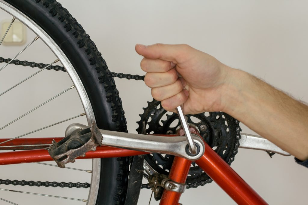 ロードバイク パーツ部品交換