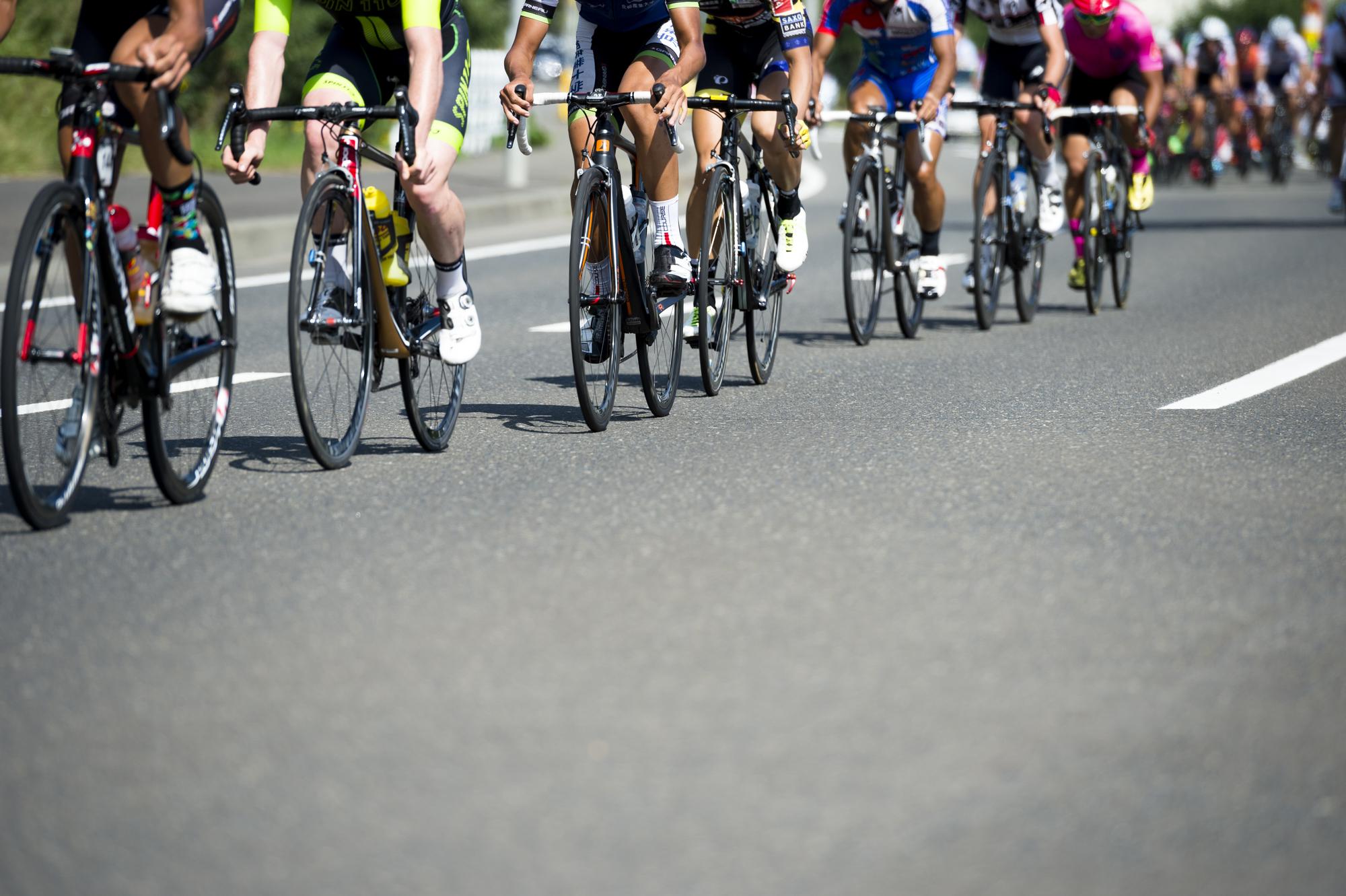 プロのスピードを生で体感!日本で開催される主な自転車ロードレース